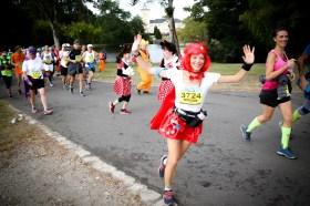 Marion Barral au marathon du Médoc 2019