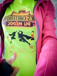 t-shirt du 35ème marathon du médoc