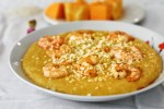 Butternut Squash & Shrimp Coconut Milk Risotto plate