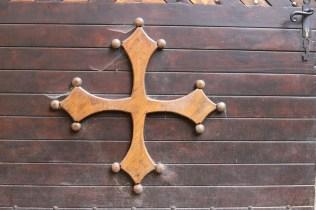La croix occitane, des fois qu'on oublierai qu'on est dans le Languedoc !
