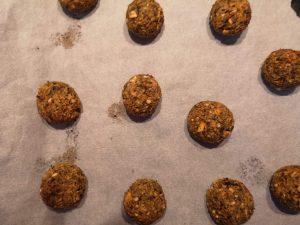 boulettes de noël aux marrons et butternut