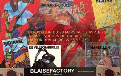Exposition à la Blaise Factory 2015