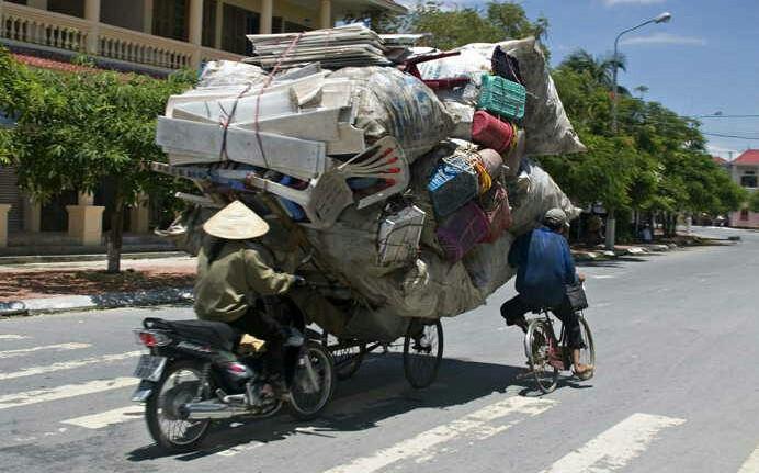 Un tour du monde, c'est avant tout un déménagement