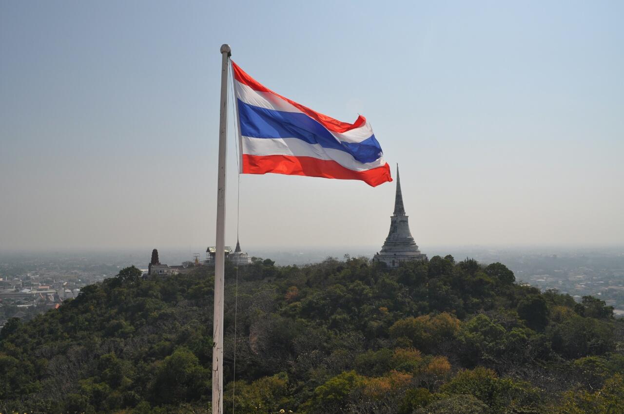 Arrivés en Thailande! direction Phetchaburi
