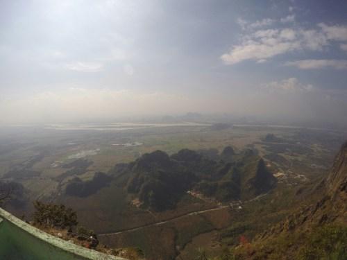 Hpa-an vue Mont Zwekabin 1