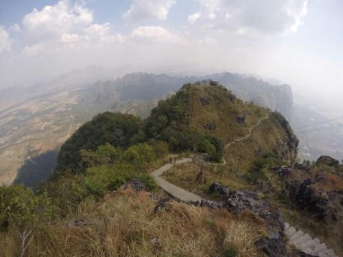 Hpa-an vue Mont Zwekabin 2