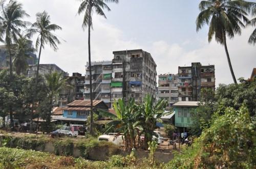 Immeubles Yangon