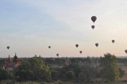 lever du soleil Bagan 3