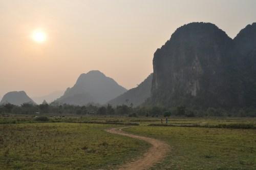 Vang Vieng paysage 1