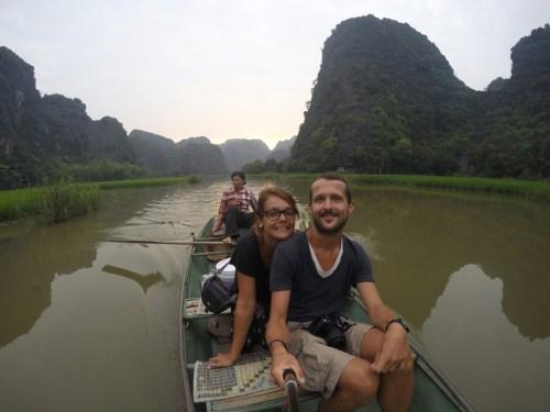 balade bateau Tam Coc 1