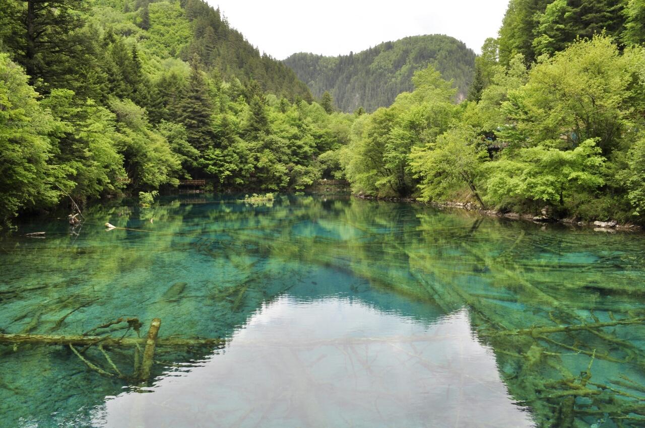 Jiuzhaigou : un parc aux eaux turquoises