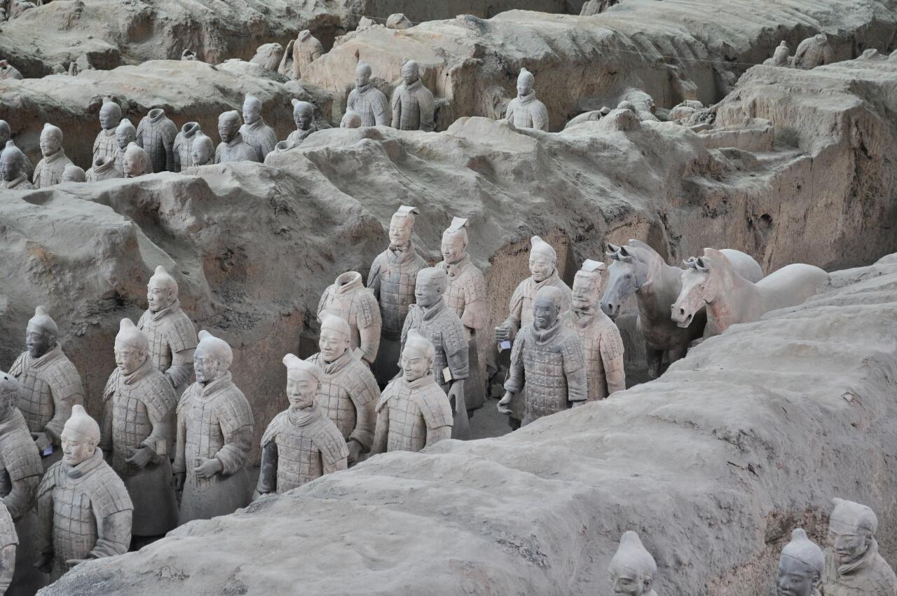 L'armée de terre cuite et les remparts de Xi'an