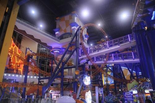 Kuala Lumpur Berjaya Square roller coaster