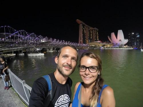 Singapour selfie 1