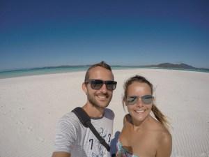 Selfie Whitheaven Beach 0804