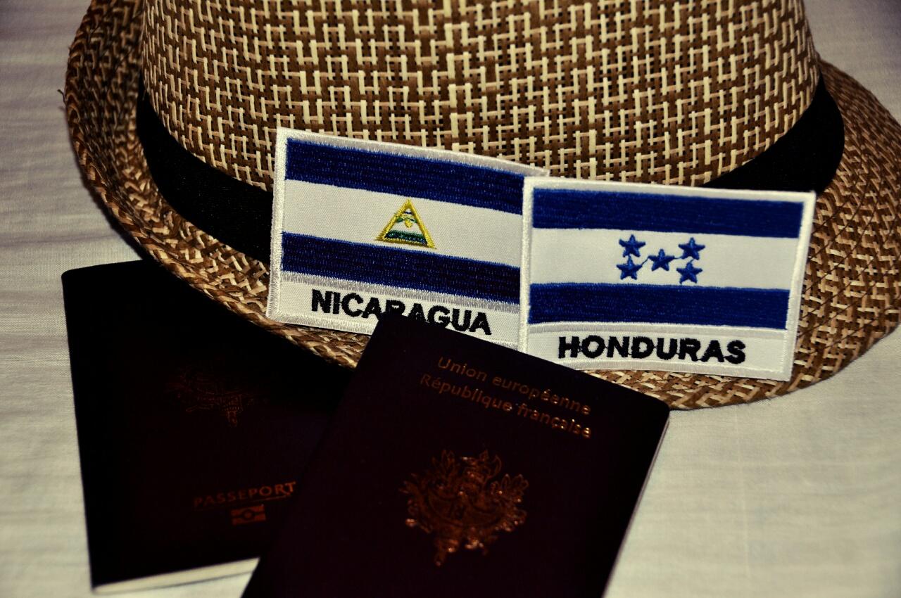 Frontière Nicaragua - Honduras, un enchainement de bus