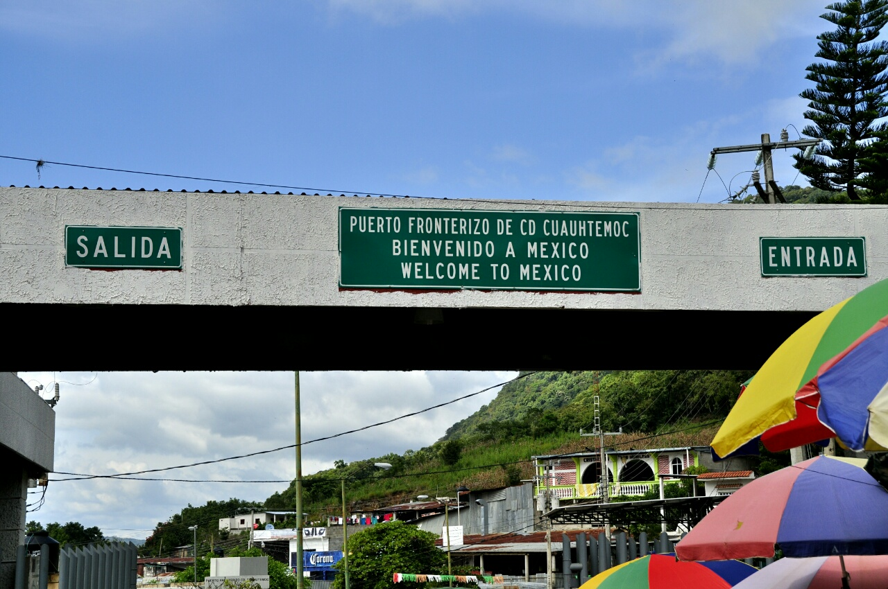 Frontière Guatemala - Mexique : une longue traversée