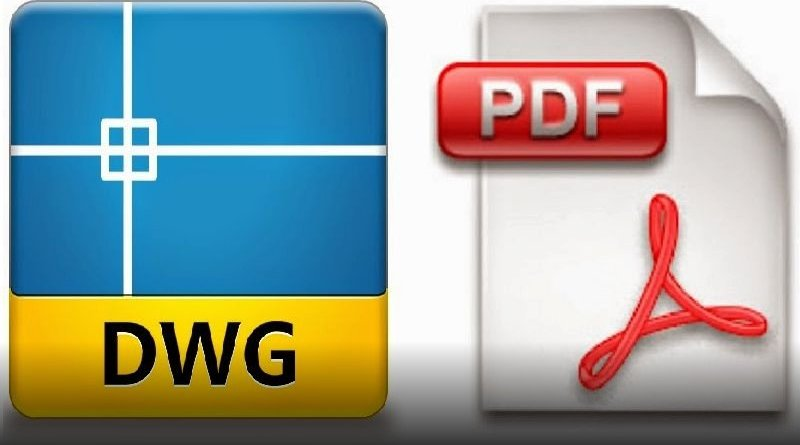 come convertire file autocad dwg in pdf