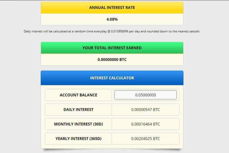 freebitcoin daily interest