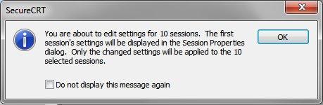 SecureCRT Session Multi-Edit