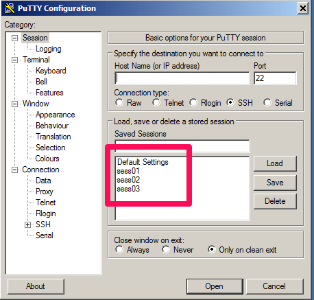 Putty Settings Migration | Ignorant and Undecided