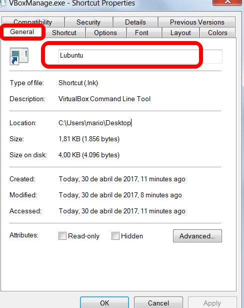 Como iniciar uma VM Virtualbox a partir de um atalho | Ignorante e
