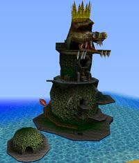 Crocodile Isle Donkey Kong 64 Super Mario Wiki the