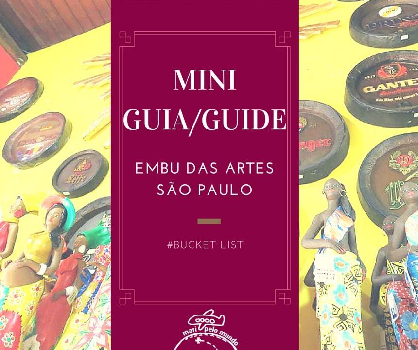 Mini Guia Embu das Artes