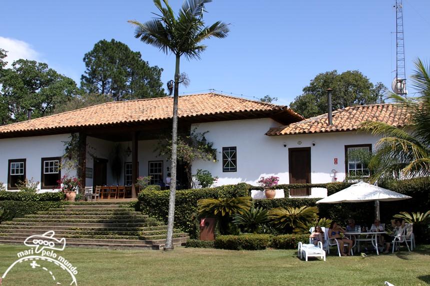Sede da fazenda Capoava