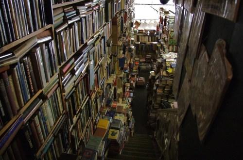 A real bookshop by Elsie esq via Flickr
