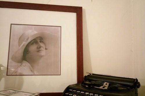Katherine Susannah Pritchard and her typewriter (c) Marisa Wikramanayake