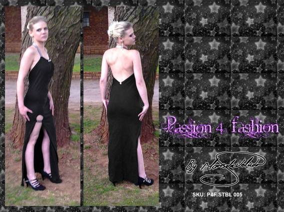 Long, elegant, black dresses with a touch of silver. Inspired by the midnight skies. Designed with the Every woman should have a little black dress.