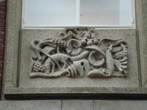 Nijmegen - Burchtstraat (reliëf 4)