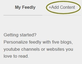 feedly RSS-feeds toevoegen