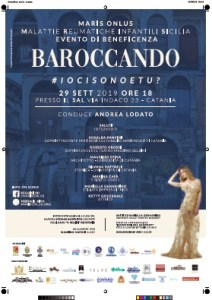 "LOCANDINA EVENTO ""BAROCCANDO"" 2019"