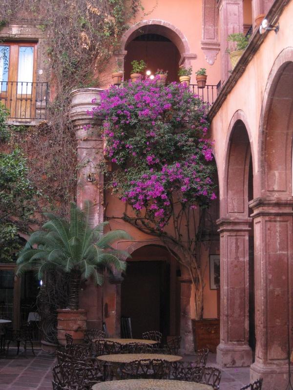 Courtyard, Guadalajara, Mexico