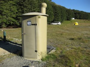 "An ""official campground"" in NZ"