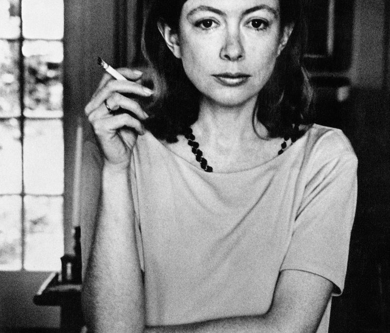 Joan Didion on the power of grammar