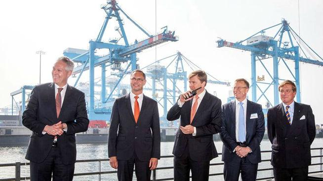 APM Terminals' opening of Maasvlakte II