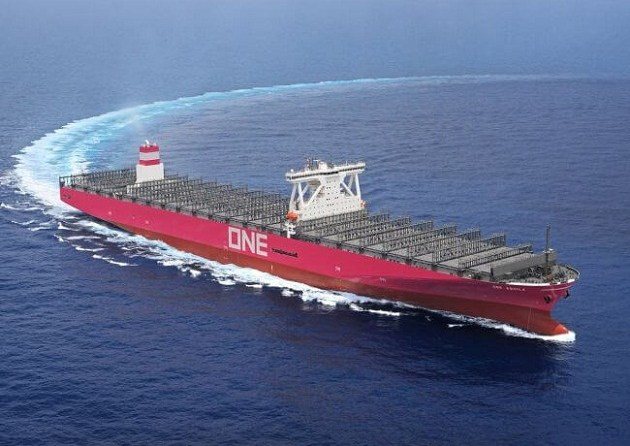 ONE Receives Delivery Of 14,000 TEU Container Ship 'Aquila' 1