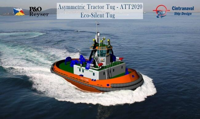 MAN 175D Becomes The First IMO Tier III-Compliant Harbour Tug Designed For Operation In Mediterranean 1