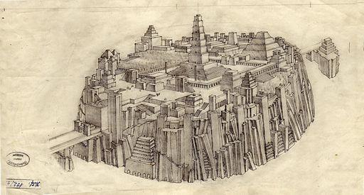 Géza Maróti's Atlantis City
