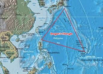 The Mystery Of Devil's Sea - Dragon's Triangle Map