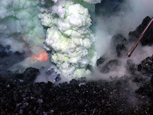 Were Underwater Volcanoes responsible for  Devil's Sea disappearances?