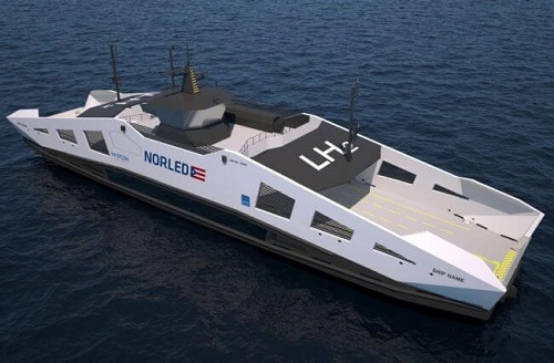 Norled And Westcon Signed The Contract For Construction Of The World's First Hydrogen Ferry 1