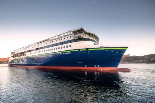 World's Largest Hybrid Vessel 'Color Hybrid' Appointed As 'Ship Of The Year 2019'