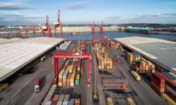 Bristol Port Enhanced Container Terminal Capacity On Completion Of £9 Million Upgrade
