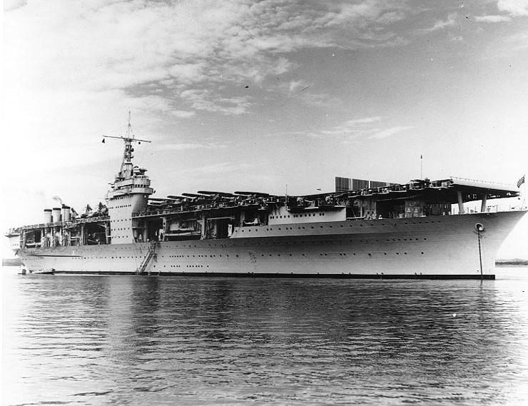 Maritimequest Uss Ranger Cv 4