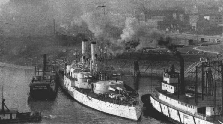 Maritimequest Uss Oregon Battleship 3 Bb 3 Ix 22 Page 4