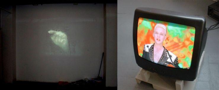 Video instalaties Willum Geerts